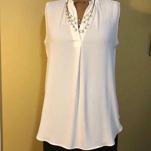 Tunic sleeveless blouse